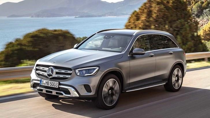 Mercedes GLC, rilancio SUV al Salone di Ginevra