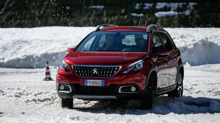 Peugeot, test sul Grip Control a Courmayer