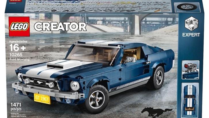 Lego e Ford insieme per la Mustang 1967