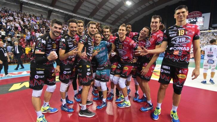 Volley: Champions League, Perugia pesca lo Chaumont, la Lube la Dinamo Mosca