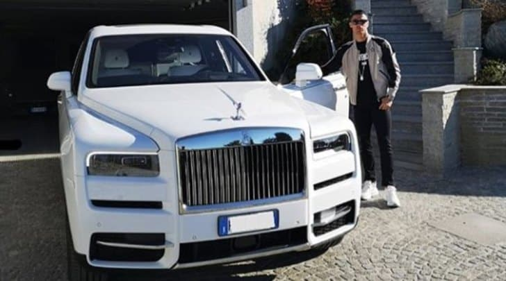 Cristiano Ronaldo e la Rolls Royce Cullinan, SUV da 400mila euro per il portoghese