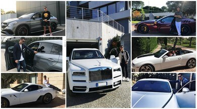 Juve, tutte le auto lussuose di Ronaldo: l'ultimo gioiello è la McLaren Senna