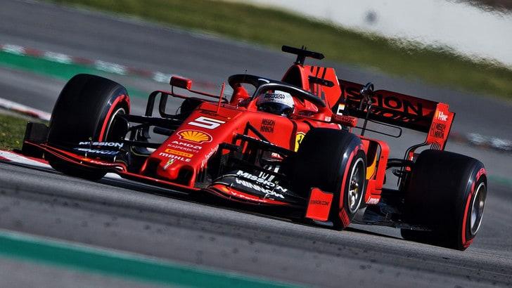 F1, Ferrari: Vettel da record con il numero cinque
