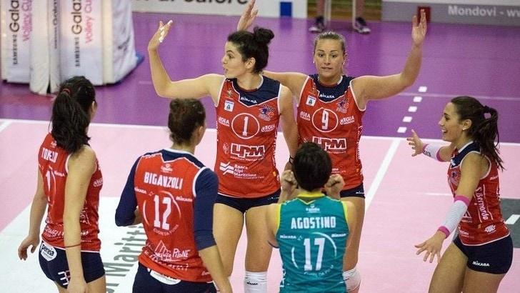 Volley: A2 Femminile, Mondovì-Perugia è il clou della 4a giornata