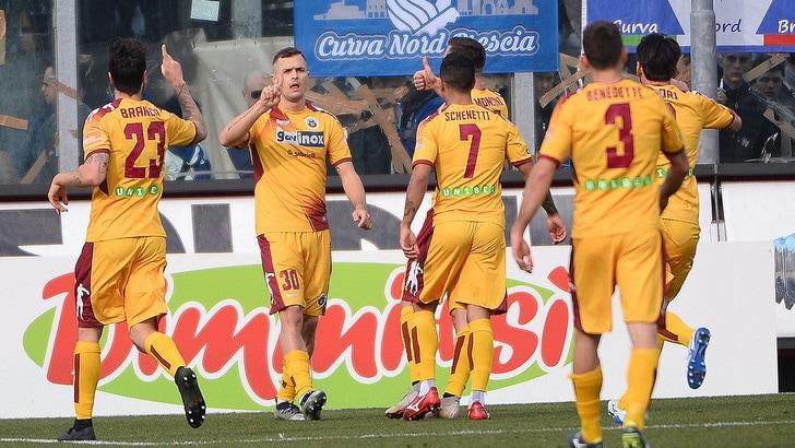 Serie B: Cittadella corsaro a Brescia, pari tra Padova e Crotone