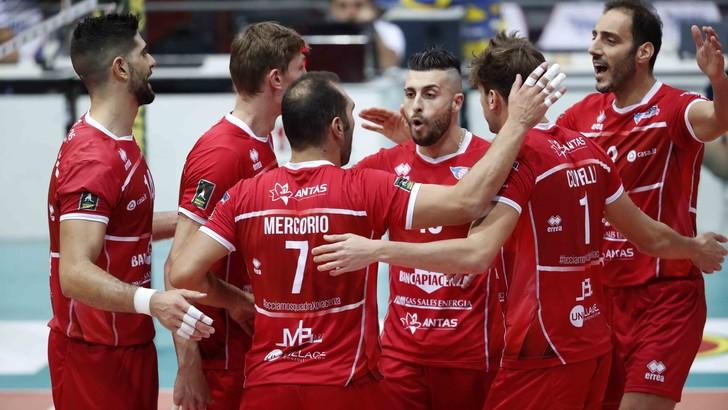 Volley: A2 Maschile, Girone Blu, Piacenza rullo compressore sul campo del Club Italia