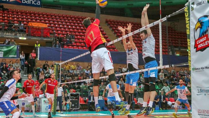 Volley: A2 Maschile, Girone Blu, Cuneo è impeccabile, travolta Ortona 3-0