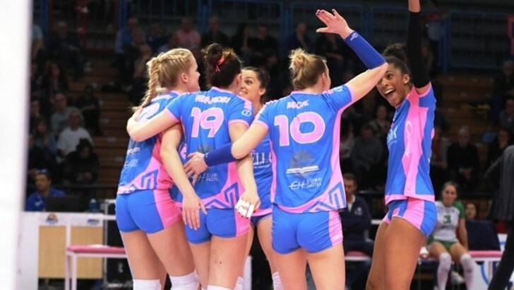 Volley: A1 Femminile, Conegliano doma Scandicci, Monza sale al quarto posto