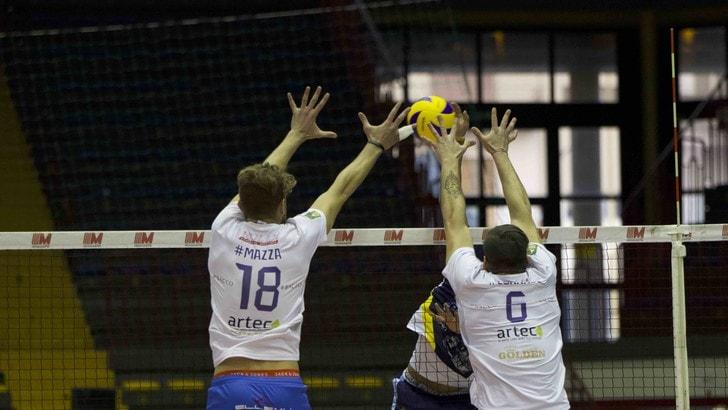 Volley: A2 Maschile, Girone Blu, Castellana Grotte e Gioia del Colle vincono solo al tie break