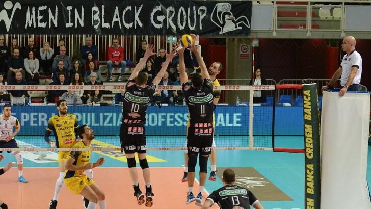 Volley: Superlega, Perugia espugna Ravenna, Modena cade in casa, Padova vince il derby