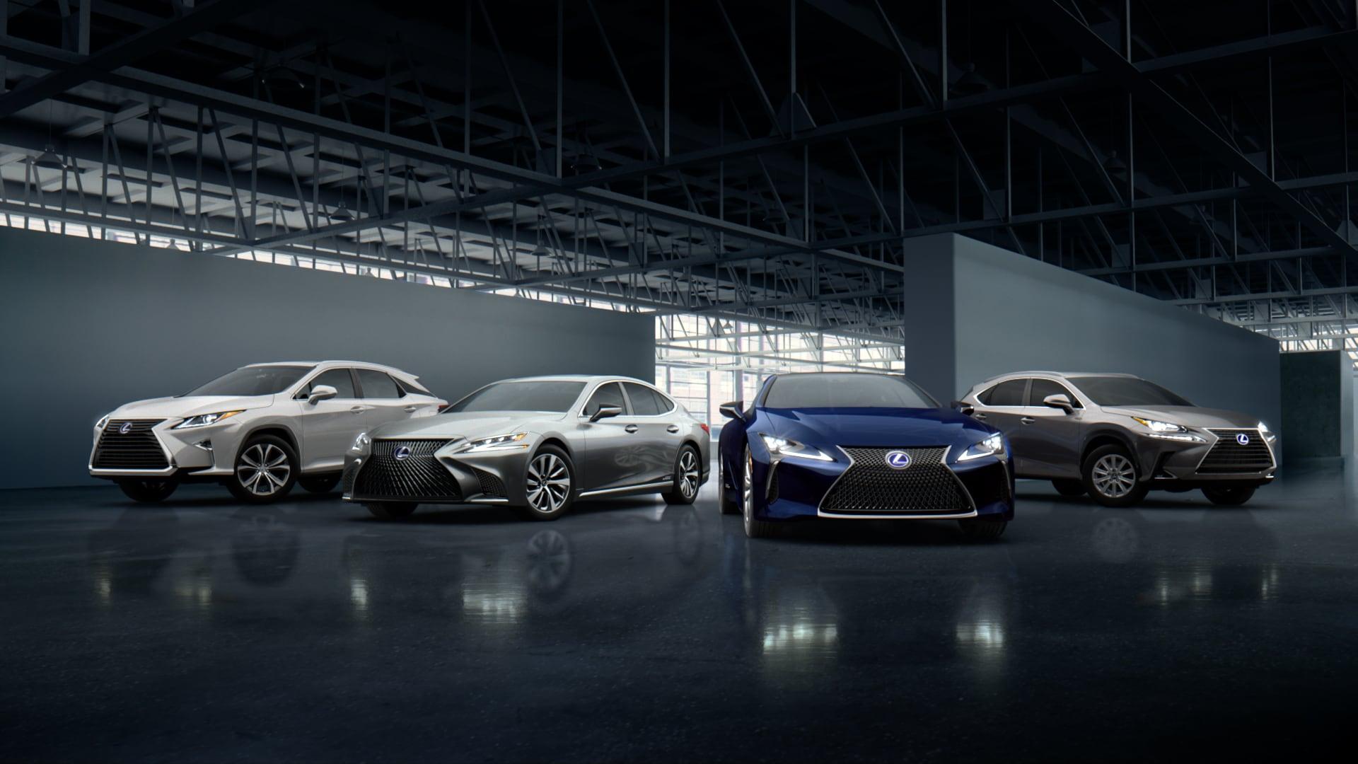 Lexus festeggia, vendute 10 milioni di auto