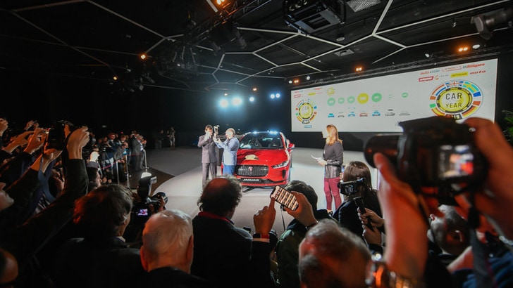 Auto dell'Anno 2019: vince l'elettrica Jaguar I-Pace