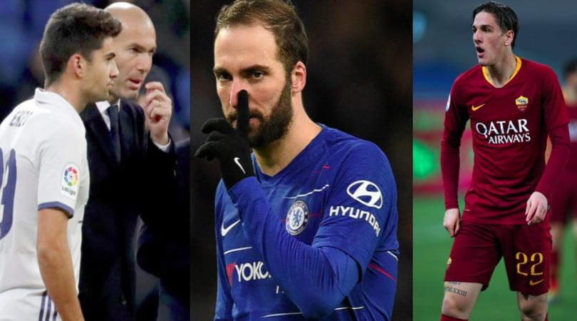 I figli d'arte nel mondo del calcio: da Higuain a Zidane e Zaniolo