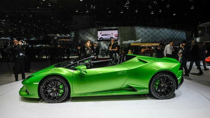 Huracan EVO Spyder: tutta la potenza Lamborghini
