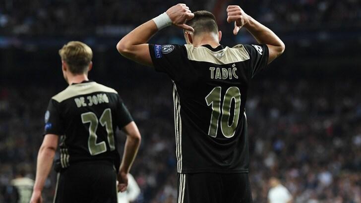 Champions, l'Ajax fa l'impresa anche in quota