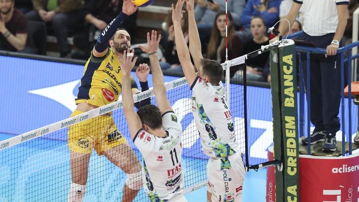 Volley: Superlega, l'MVP di febbraio è Matey Kaziyski