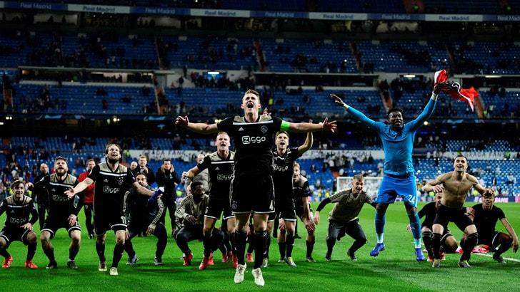 Champions League, brilla l'Ajax dei giovani terribili