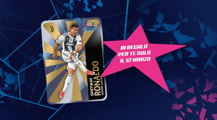 La Crystal card di CR7