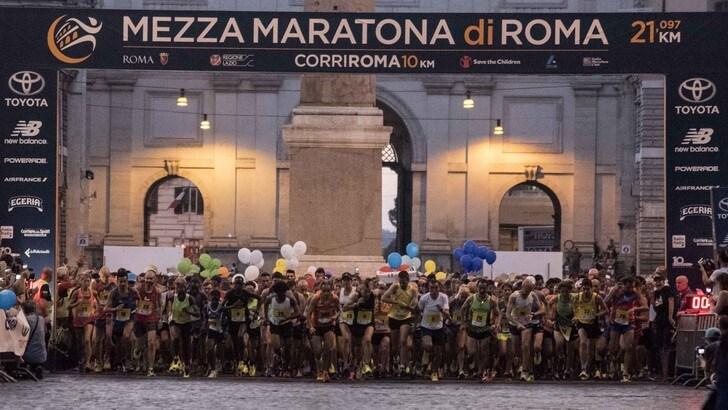 Niente permessi per la Mezza Maratona serale di Roma