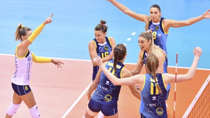Volley: A1 Femminile, Conegliano, Novara e Scandicci in campo sabato sera