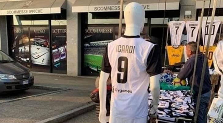 Icardi alla Juve? Allo Stadium già si vendono le prime maglie