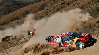 Rally Messico, dopo la prima giornata al comando c'è Ogier