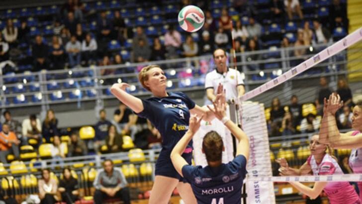 Volley: A2 Femminile, Cus Torino in gran spolvero, travolta Caserta