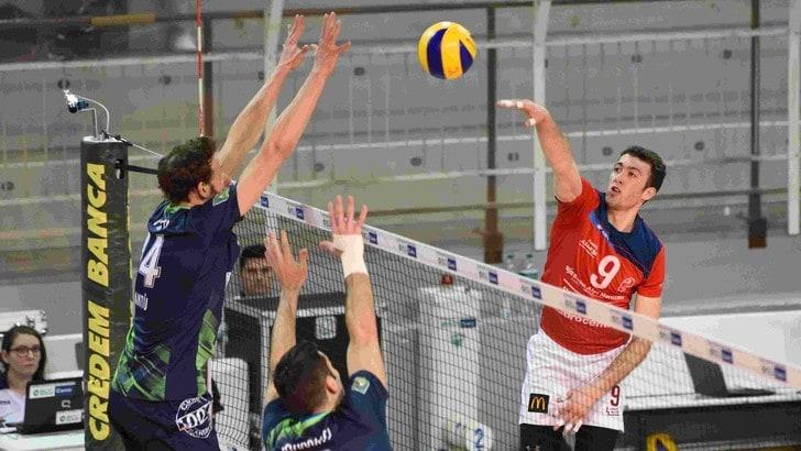 Volley: A2 Maschile, Girone Blu, Cantù vittoria con Cuneo che vale il quarto posto