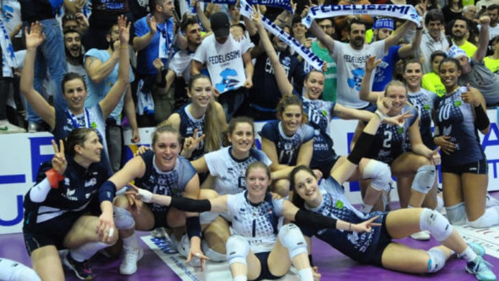 Volley: A1 Femminile, che serata per Chieri , battuta Novara