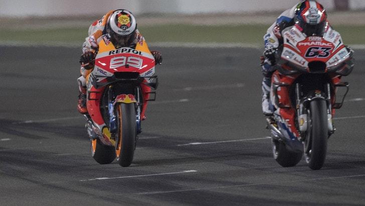MotoGp Qatar, Bagnaia: «La top ten, obiettivo possibile»