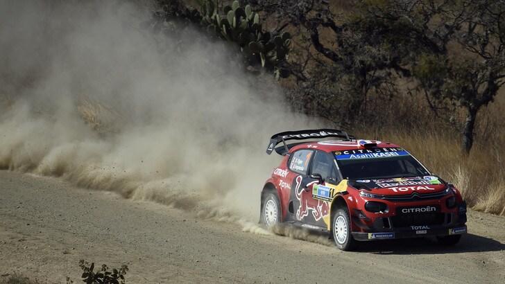 Rally Messico, cresce il distacco per Ogier e Ingrassia