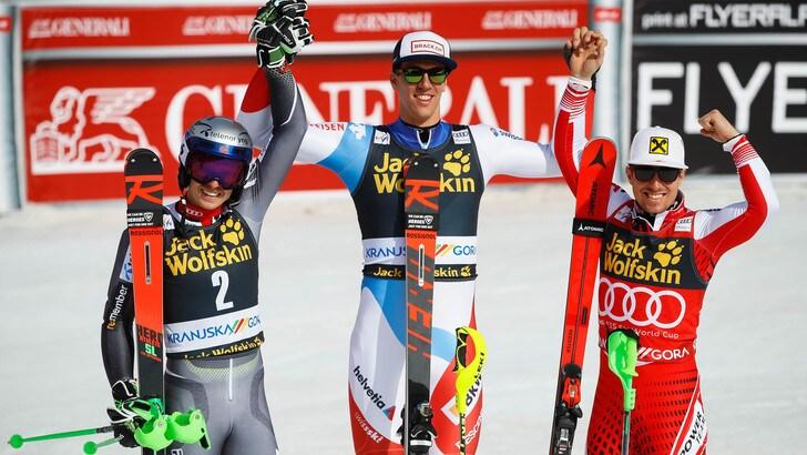 Sci, Kranjska Gora: slalom a Zenhausern, ottava Coppa a Hirscher