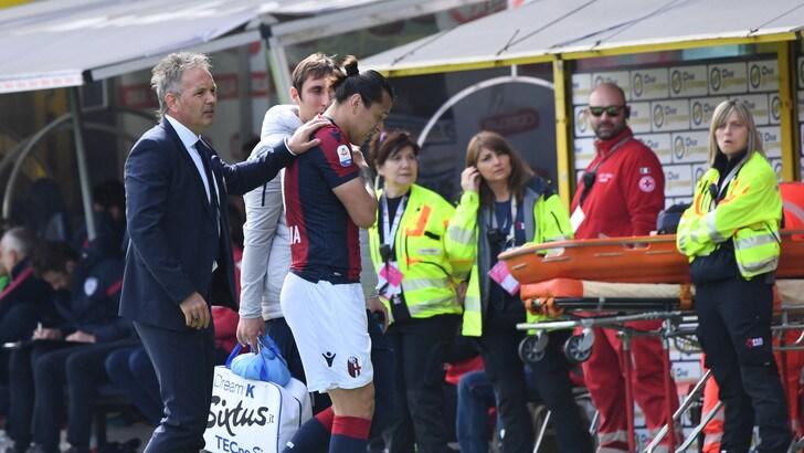Serie A Bologna, lussazione alla spalla: Santander out tre settimane
