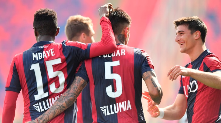 Pulgar-Soriano, il Bologna si sbarazza del Cagliari