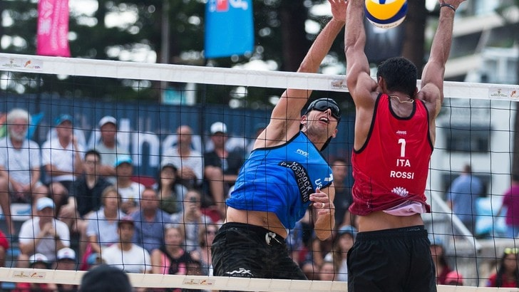 Beach Volley: per Rossi-Carambula a Sidney secondo gradino del podio