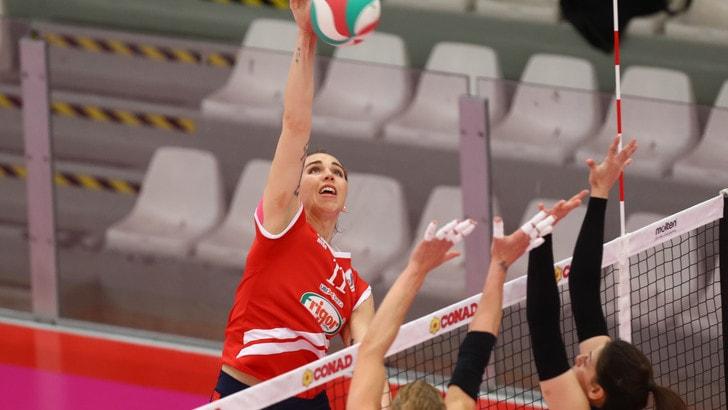 Volley: A2 Femminile, Perugia perde il derby con Orvieto