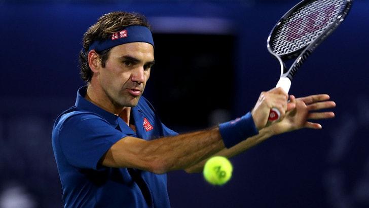 Tennis, Federer da leggenda: poker a Miami, battuto Isner