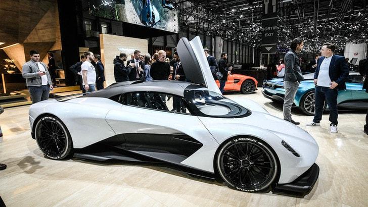 Aston Martin AM-RB 003, ricerca estrema al Salone di Ginevra