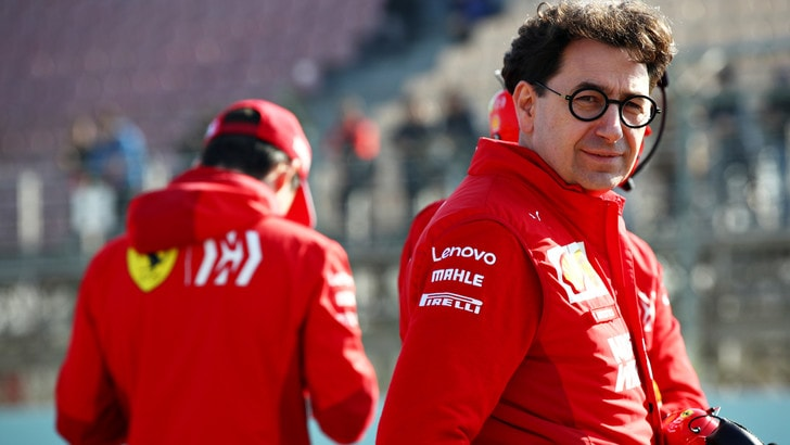 F1 Ferrari, Binotto: «Dobbiamo far soffrire la Mercedes»
