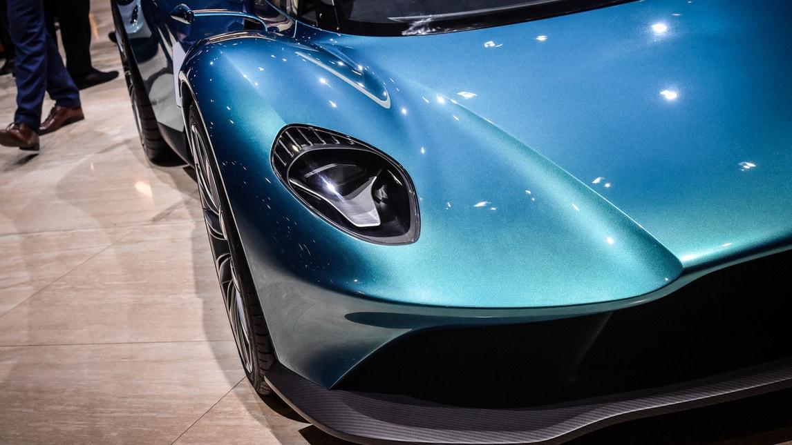 Aston Martin presenta la Vanquish Vision Concept