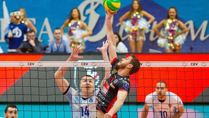 Volley: Champions League, Civitanova sbanca Mosca in rimonta