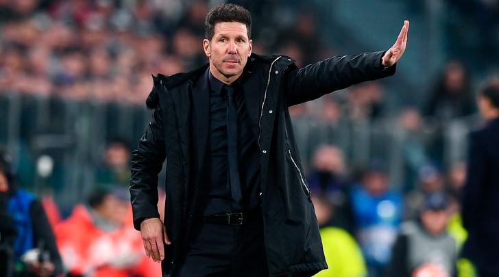 Simeone applaude la Juve:«Ha meritato. Ronaldo?È il migliore»