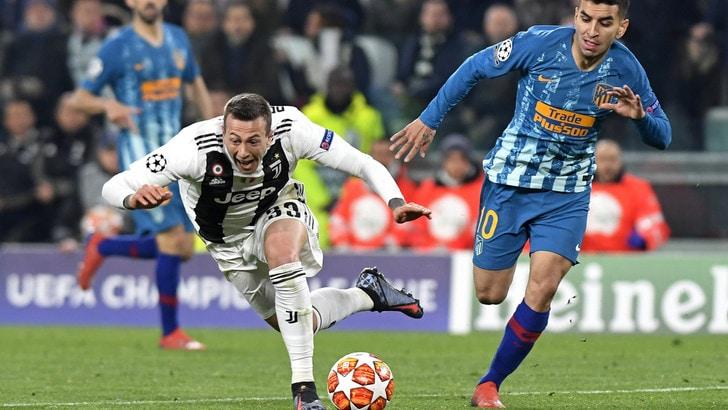 Moviola Juve-Atletico: zero dubbi sul rigore di Bernardeschi