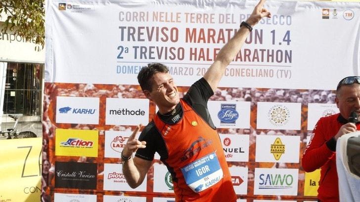 Igor Cassina sfida sua sorella Mara: di corsa alla Ten Miles di Treviso