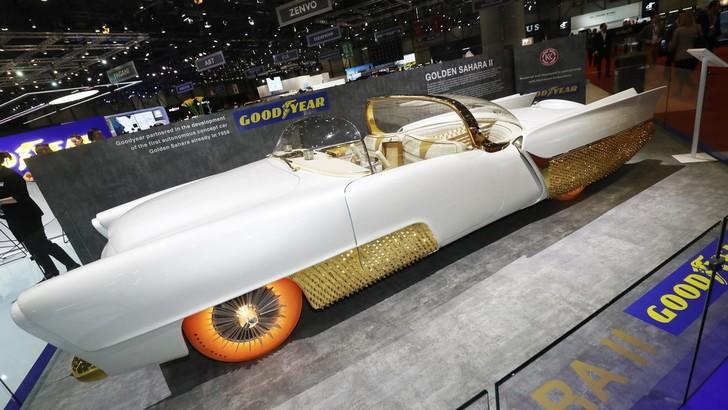 Golden Sahara II, Goodyear presenta il restyling a Ginevra