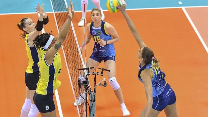 Volley: Champions Femminile, per Scandicci brutto ko interno con il Fenerbahce