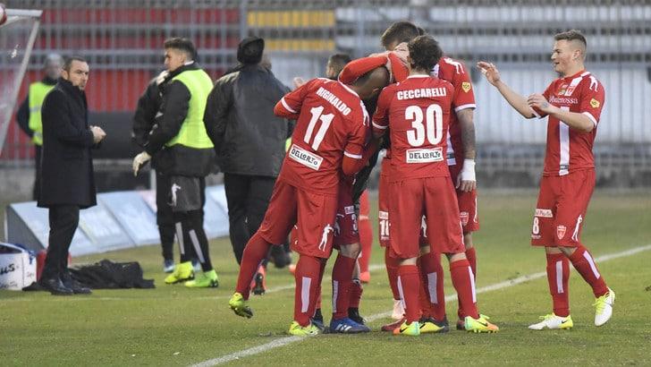 Serie C, Coppa Italia: Monza con un piede in finale, battuto il Vicenza al Menti 1-0