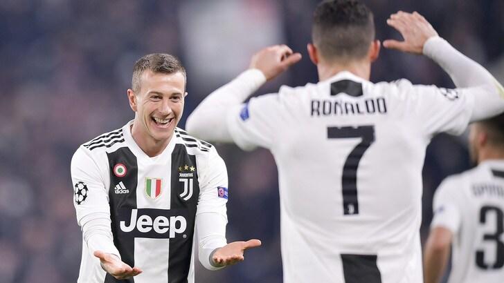 Bernardeschi risplende anche per le lezioni di Ronaldo