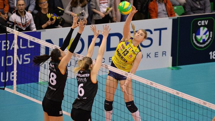 Volley: Champions Femminile, nulla da fare per Conegliano con l' Eczacibasi