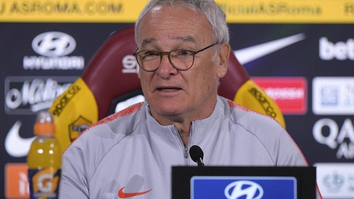 Roma, Ranieri: «Contro la Spal voglio una squadra libera mentalmente»